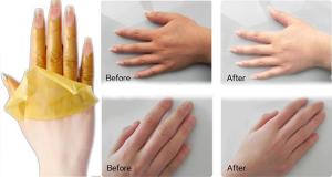 Guide sur la façon de blanchir vos mains instantanément!